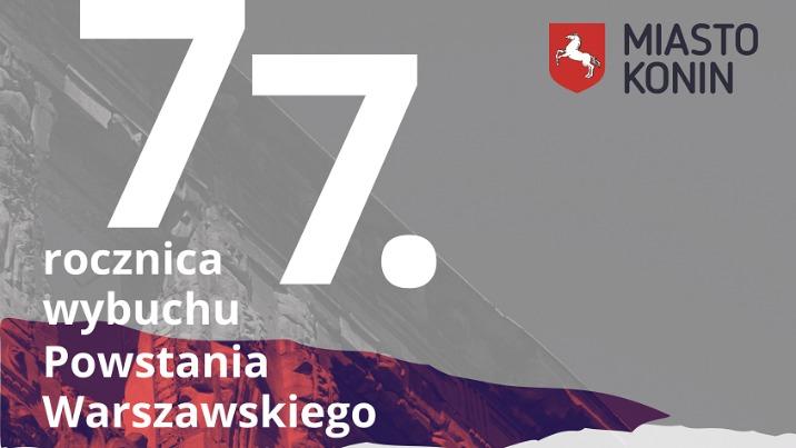 Konińskie obchody  77. rocznicy Powstania Warszawskiego