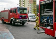 Pożar w hucie. Strażacy sześć godzin gasili filtry pieca topielnego