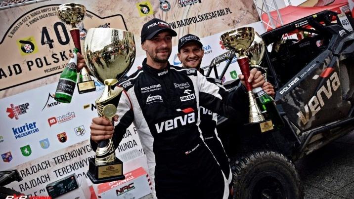 Polskie Safari. Kamena Rally Team pierwszy w klasie i w generalce