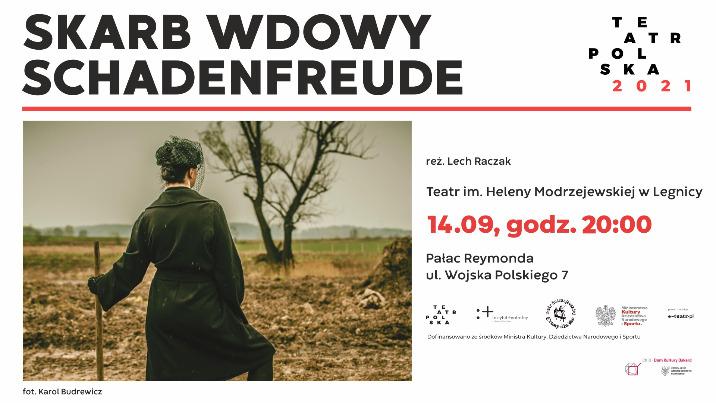 "Teatr Polska: spektakl ""Skarb Wdowy Schadenfreude"""