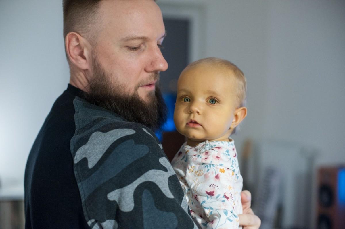 Oddał córce fragment wątroby. To była szansa na dalsze życie Kai.