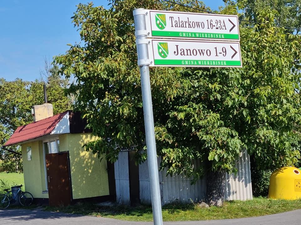 W gminie Wierzbinek rozpoczęło się porządkowanie znaków z nazwami