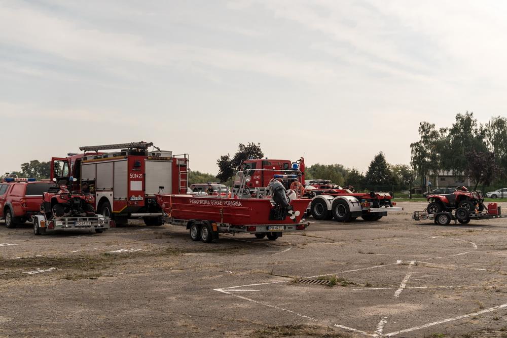 Regionalne ćwiczenia strażackie w razie powodzi