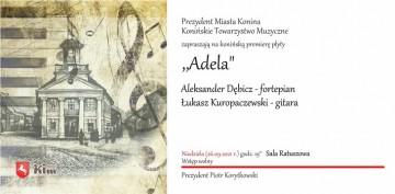 Muzyka w ratuszu. Prezydent Konina zaprasza
