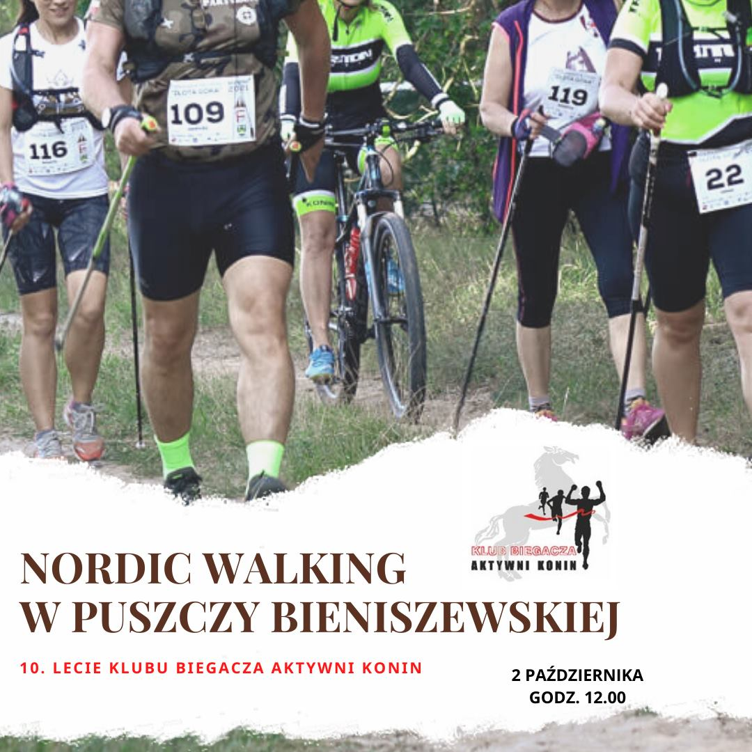 Zapraszają na marsz nordic walking z okazji 10-lecia Aktywnych Konin