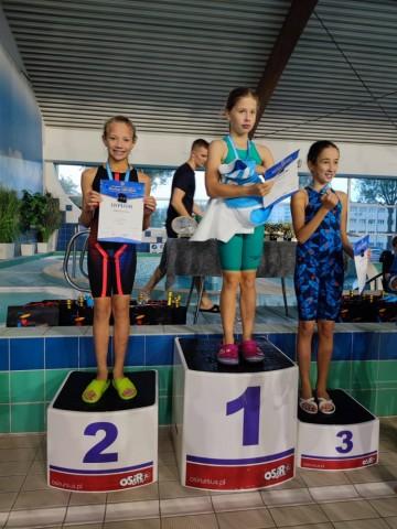 Pływacy Iskry Konin rozpoczęli sezon. Pięć medali w Warszawie