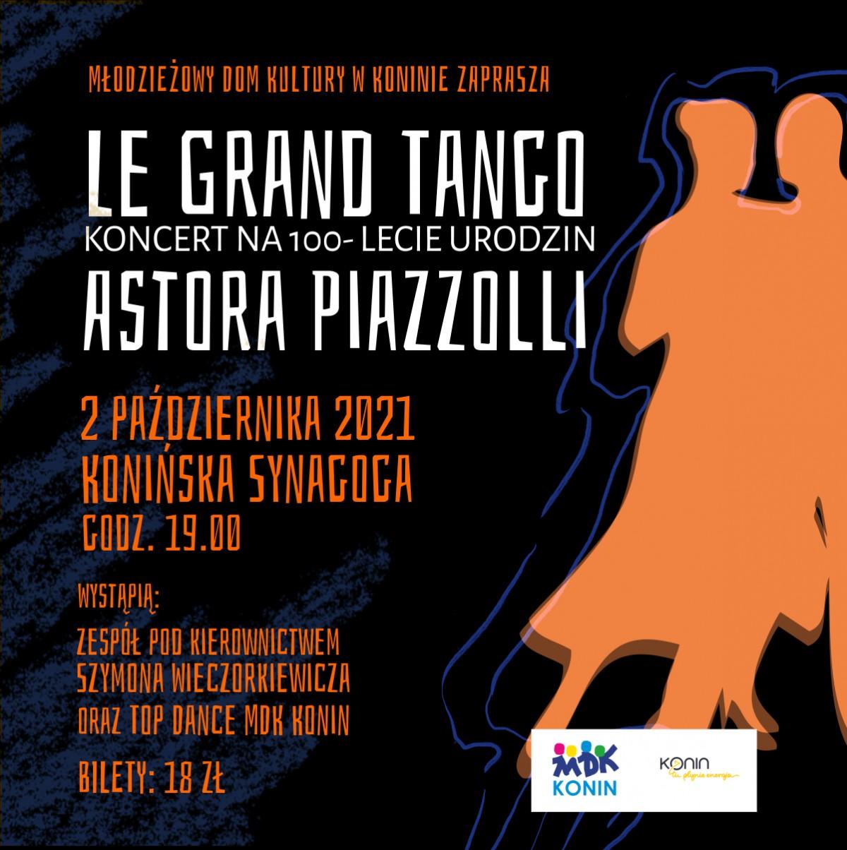 Piękna, nastrojowa muzyka Astora Piazzolli w konińskiej synagodze