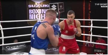 Suzuki Boxing Night 8. Mateusz Goiński rozprawił się z rywalem