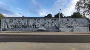 Święto Reformacji w Żychlinie. Uroczyste odsłonięcie muralu