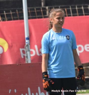 Oliwia Szymczak zagrała w kadrze Polski U19