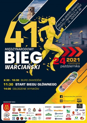 Międzynarodowy Bieg Nadwarciański w Kole sportowym wydarzeniem weekendu