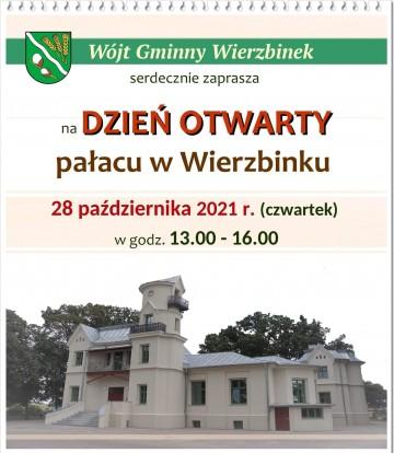 Dzień otwarty pałacu w Wierzbinku