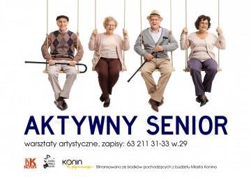 Konin. Aktywny Senior, czyli warsztaty artystyczne dla seniorów w KDK
