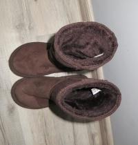 Ciepłe buciki z futerkiem EMU rozm. 31 stan BDB