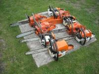 Sprzęt ogrodniczy-Traktorki kosiarki kosy piły