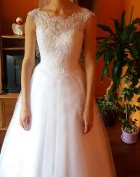Suknia Ślubna Elizabeth Passion+gratis welon, halka, broszka