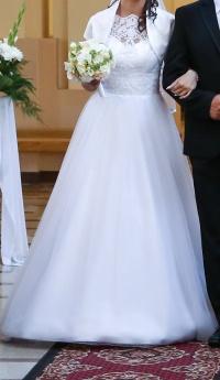 Suknia ślubna r.34