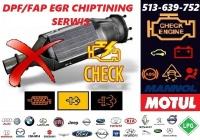 Auto-elektronika DIAGNOSTYKA SERWIS DPF/FAP EGR Chiptuning