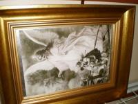 Piękny Anioł stróż OPIEKUN DZIECI I DOROSŁYCH
