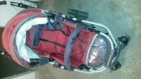 Wózek Darex dla dzieci, gondola, spacerówka + akcesoria, 2 w