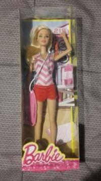 Barbie ratowniczka nowa