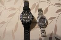 sprzedam męski zegarek casio + drugi nowy zegarek gratis