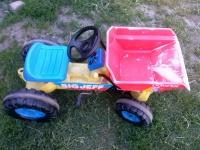 sprzedam traktor z kipowarka
