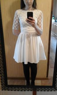 Sukienka biała poprawinowa