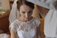 Piękna suknia ślubna ANGELA