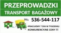 Przeprowadzki-Transport Bagażowy .Wywóz zbędnych mebli.