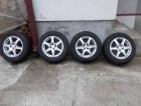 Alufelgi 15 cala z oponami zimowymi Dunlop