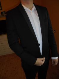 sprzedam !!Tanio smoking garnitur jak nowy!