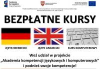 Bezpłatne kursy - język angielski i niemiecki