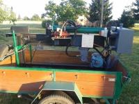 maszyna do  lupania drewna