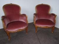 Okazja fotel w stylu ludwika komplet 2szt.