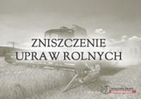 Wypadek w rolnictwie, zatrucia środkami chemicznymi ......