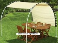 osłona przeciwsłoneczna do ogrodu