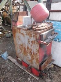 Piec szutowy węglowy c.o, Przęsła Ogrodzenia Bramy-używane