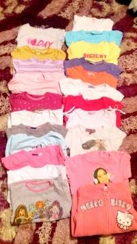 Ubrania dla dziewczynki r.98-116