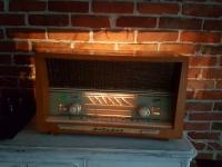 Stare radio lampowe Graetz Melodia M 518 D