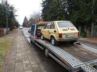 Transport i holowanie aut osobowych oraz busów z niemiec
