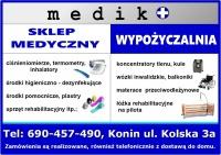 SKLEP MEDYCZNY & WYPOŹYCZALNIA MEDIKO 690 457 490