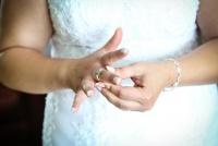 Suknia ślubna szyta na miare rozmiar 42