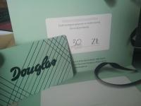 Karty upominkowe Douglas na 30zł