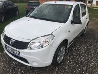 Dacia Sandero 2010r benzyna+gaz