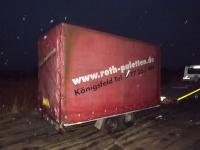 Przyczepa -laweta 2000 kg I Kontener