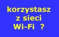 chroni przed niezabezpieczonymi Wi-Fi
