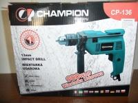 Wiertarka udarowa champion 900W 13mm