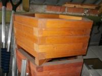 Sprzedam nieużywane donice drewniane