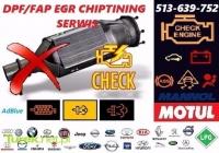 Auto-elektronika SERWIS DPF/FAP EGR Chip-tuning AdBlue LPG